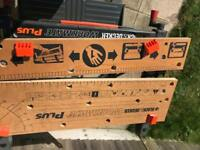 Black and decker workmate.