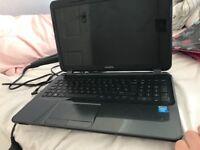 HP black laptop