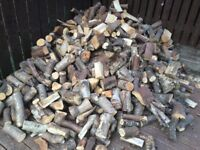 Ready to burn logs