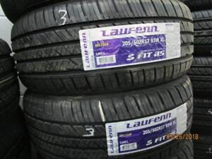 205/50R17 2 ONLY MATCHING NEW LAUFENN A/S TIRES