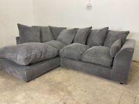 Grey corner sofa, couch, suite furniture 🚚🚛🚚