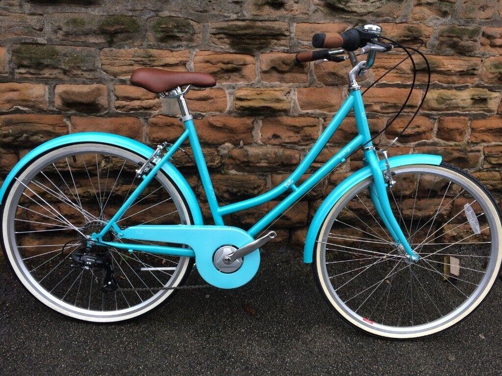 3af6d073059 New British Eagle Bella 2019 Womens Hybrid Bike Jade RRP £335.00