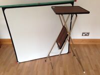 TV Projector Stand and Roll Up Screen