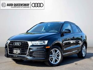 2018 Audi Q3 2.0T Komfort, Demo Savings, Navigation Package!