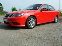 SAAB 9-3 1.9 TID AIRFLOW.150BHP 2009 ( MODEL ).DRY STORED AND VIRTUALLY UNUSED FOR 4 YEARS.
