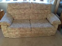 2 Sofas for sale, a 3 seater and a 2 seater