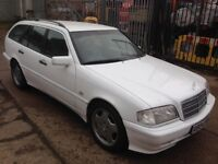 ideal for export mercedes c180 estate 17amg alloys good engine and gearbox
