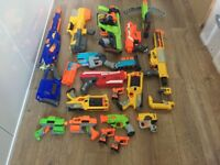 Nerf guns job lot