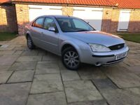 2003 FORD MONDEO 1.8 PETROL ONE YEARS MOT
