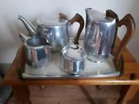 Vintage Picquot Ware Tea Set