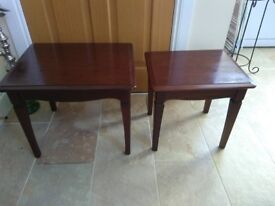 Two Stag Side Tables