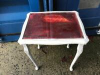 Shabby chic side table FREE DELIVERY PLYMOUTH AREA