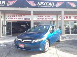 2012 Honda Civic LX AUT0 A/C CRUISE ONLY 109K