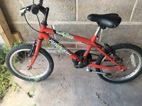 """boys 16"""" bike 5+"""