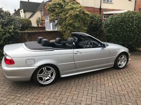 BMW convertible 318CI M series LOW MILEAGE - not to be missed!