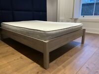double bed frame and mattress for free
