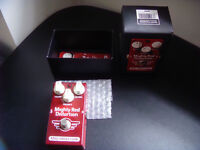 Mad Professor Mighty Red Distortion guitar pedal, new, used once!