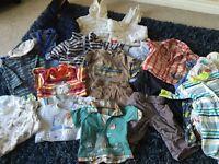 Bundle of Boys Baby Clothes