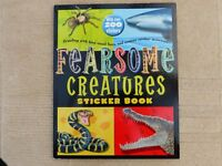 Fearsome Creatures Sticker Book