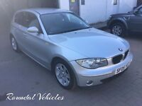 2005 BMW 116 SE FIVE DOOR HATCH, SILVER METALLIC, MANUAL, MOT 2018 TIMING CHAIN SERVICE, IMMACULATE