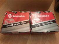 BMW E30/E36/E46 Brembo Sport HP2000 Brake Pads Front & Rear Axle Set