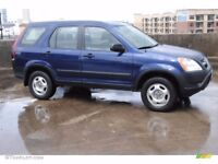 Honda crv 2003 blue Good condition