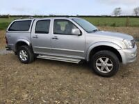 2006 Isuzu Rodeo D-Max 3.0 Double Cab Pick-Up 4x4 NO VAT