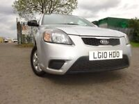 10 KIA RIO 1.4,5 DOOR HATCHBACK,MOT APRIL 019,2 OWNERS,2 KEYS,2 OWNERS,VERY RELIABLE CAR,LOVELY CAR