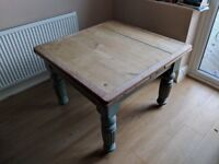 Solid Wooden Table - Shabby Chic