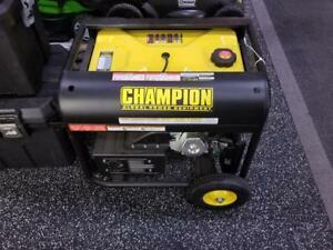 Champion 6500 Watt Generator - Only $799!