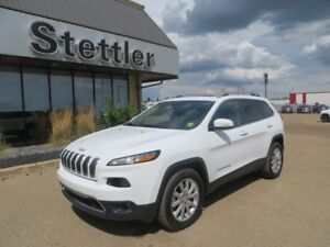 2017 Jeep Cherokee LIMITED 4X4! LEATHER! SUNROOF! NAV! V6!