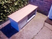 Grey Painted TV Stand Unit