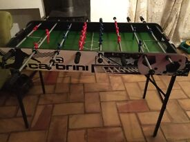 Table football game 4ft