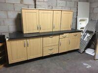 Kitchen units Set cupboards WE DELIVER UK
