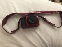 Red D3200 Camera Perfect Condition