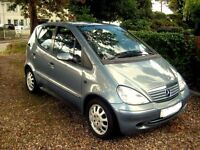 Mercedes A Class A140 Elegance Petrol Automatic. Air Conditioning. Radio CD player. Electric Windows