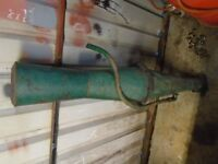 Field marshall tractor exhaust stack. (Not fordson, Allis Chalmers, Ferguson)