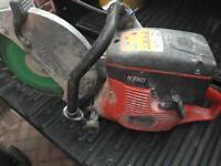 Husqvarna k760 2 stroke petrol saw