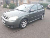 Toyota Corolla 1.4 VVT-i T3 Hatchback 5dr Petrol Manual 2005,***Warranted with mileage History.
