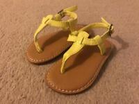 Brand new. GAP. Toddler size 5 sandals.
