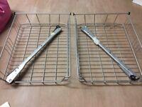 IKEA wire basket 50 cm wide x2