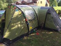 Vango infinity 800 air beam tent and accessories
