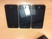 3 iPhone 4s handsets, fully working, Vodafone