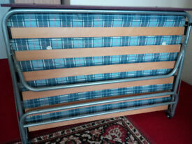 Auto Leg Small Double Guest Bed