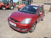 FORD FIESTA - EY07NVN - DIRECT FROM INS CO
