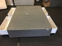 "Good clean 4ft 6"" storage divan base(FREE DELIVERY)"