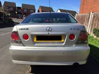 2004 (54) Lexus IS 200 [MANUAL] [2.0L]
