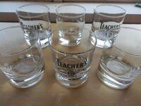 Whisky Glasses Teachers & Ballantines Quality Heavy Base 260g 12 - £7.95, 24 - £11.95, 48 - £19.95
