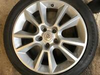 Vauxhall Astra Zafira deign wheels