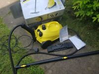 Hardly used Karcher SC2 steam cleaner with accessories